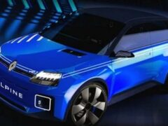 Renault 5 Alpine показали в образе спортивного супермини