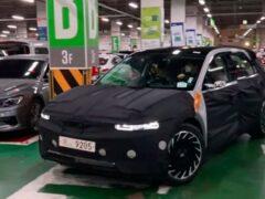 Hyundai выпустил третий тизер нового электромобиля IONIQ 5