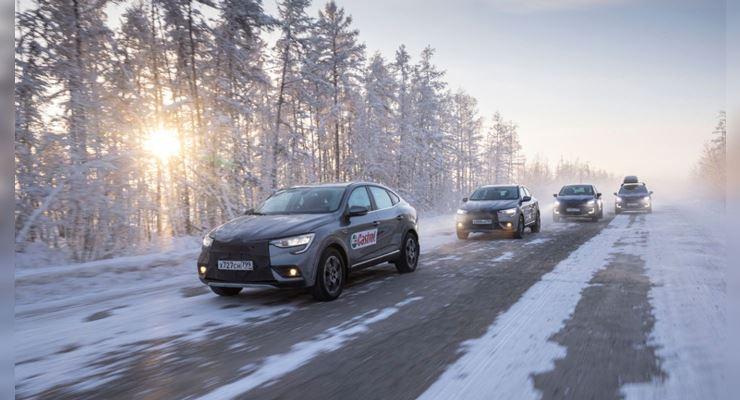 Renault Kaptur и Arkana, тест, холод