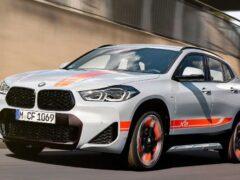 BMW начала продажи спецверсии кроссовера X2 M Mesh Edition