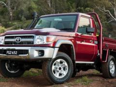 Toyota Land Cruiser 70 Series превратили в электрокар для работы на рудниках