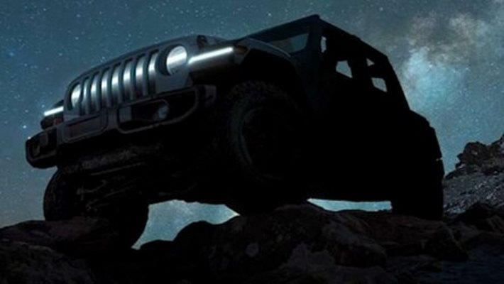 Jeep Wrangler, электрический
