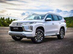 Mitsubishi показала обновленный внедорожник Pajero Sport для России