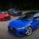 В России представлены новые Audi RS Q8, RS 6 Avant и RS 7 Sportback
