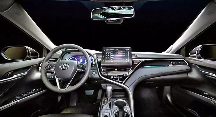 Toyota Camry, обновленная для Китая