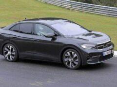 Volkswagen готовит к премьере электрический кроссовер ID.5