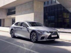 Lexus улучшил динамику гибридной модели LS