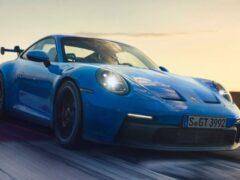 Новый спорткар Porsche 911 GT3 официально представлен в России