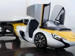 Продажи словацкого летающего автомобиля AeroMobil начнутся в 2023 году