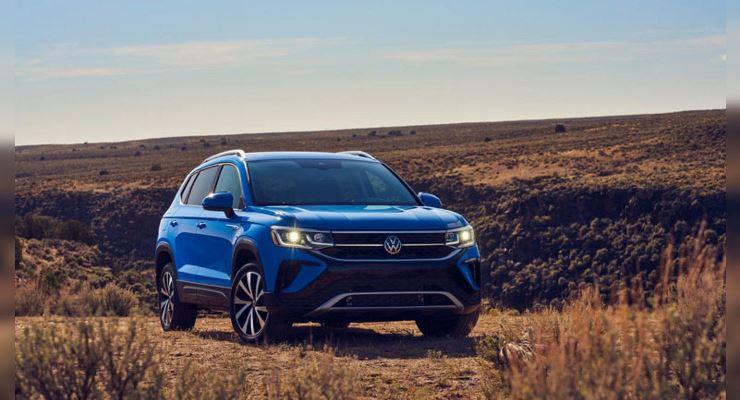 Volkswagen Taos, кроссовер, для рынка США