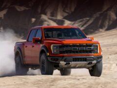 Ford представил обновленный пикап F-150 Raptor