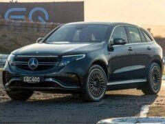 Mercedes-Benz решил не продавать кроссовер EQC в России