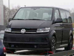 Прототип Volkswagen ID.Buzz заметили перед тестами