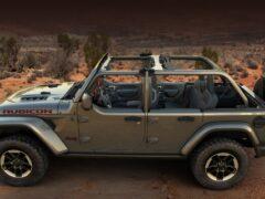 Jeep представил версию полудверки для внедорожника Wrangler