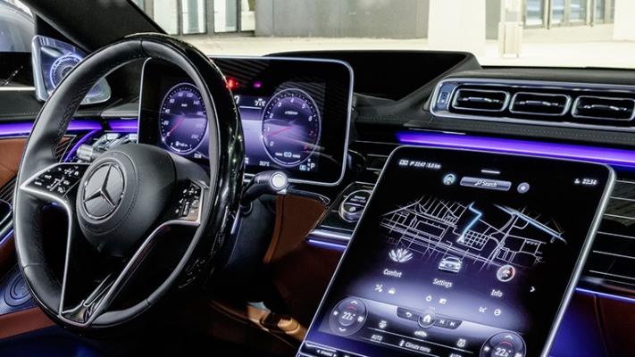авто, кабина, интеллектуальный пульт управления
