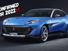 «Чистокровный» кроссовер Ferrari Purosangue вывели на зимние тесты