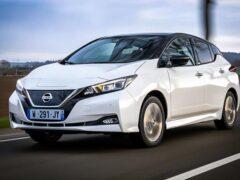 Nissan представил юбилейную версию электрокара Leaf
