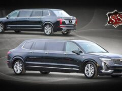 Показали странный шестидверный лимузин на основе кросса Cadillac XT6