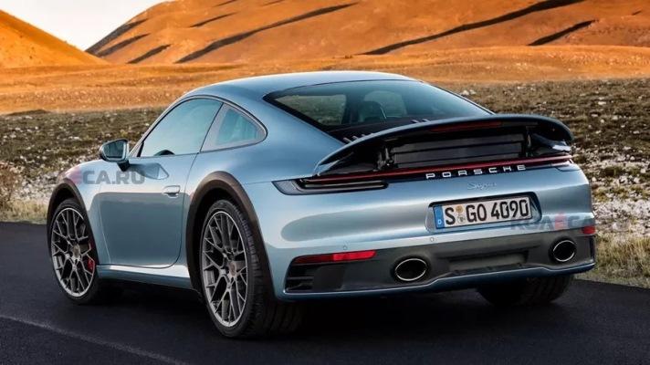 Porsche 911 Safari, раллийный