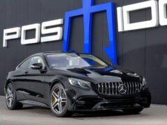 Ателье Posaidon форсировало силовой агрегат у купе Mercedes-AMG S63