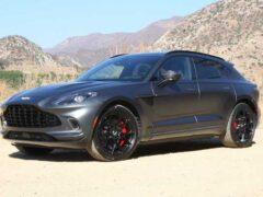 Aston Martin DBX получит три новые версии, включая плагин-гибридную