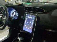 Семиместный Hyundai Creta получит большой мультимедийный планшет