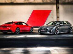 Компания Audi назвала рублевые цены обновленные RS 6 и RS 7