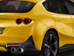 Первый кроссовер марки Ferrari показали на новых рендерах