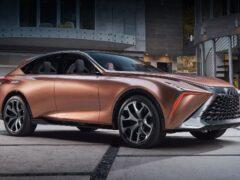 Флагманский кроссовер Lexus LQ получит V8 с двойным турбонаддувом