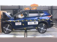 Новый внедорожник Nissan Rogue провалил краш-тест NHTSA