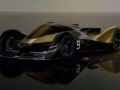 Lotus показал новый электрический спорткар