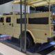 Компания Kia показала военный автомобиль на выставке IDEX 2021