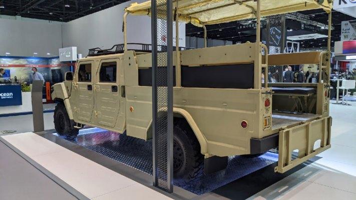 Light Tactical Cargo Truck, броневик