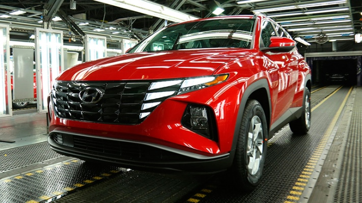 Hyundai Tucson, кроссовер
