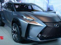 Lexus NX нового поколения показали на рендерах