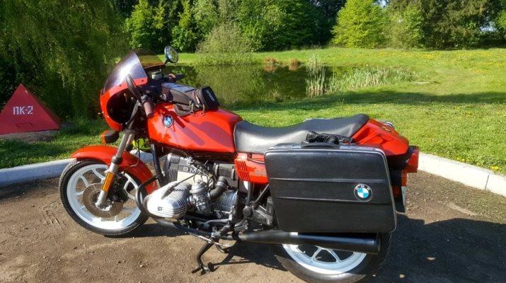 BMW R 65 LS, ретро-мотоцикл