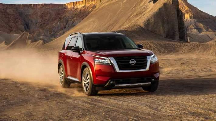 Nissan Pathfinder, внедорожник новый