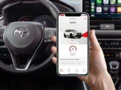 Россияне смогут следить за своими автомобилями Toyota и Lexus со смартфона