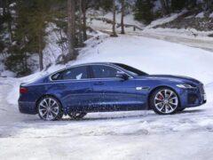 Jaguar начал прием заказов на обновленный седан Jaguar XF в России