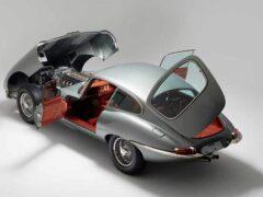 Классический Jaguar E-Type отреставрировали в ателье Helm