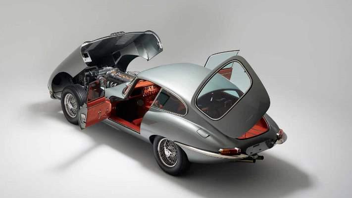 Jaguar E-Type, классический