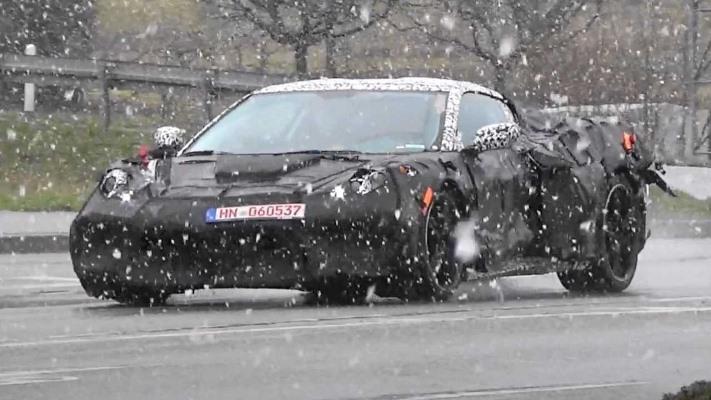 Chevrolet Corvette C8, европейская версия