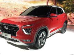 Hyundai Creta второй генерации проходит дорожные испытания в России