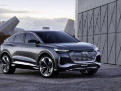 Компания Audi начала производство нового кроссовера Q4 e-tron