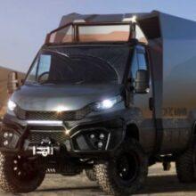 В Германии представлен автодом Darc Mono для экстремальных экспедиций