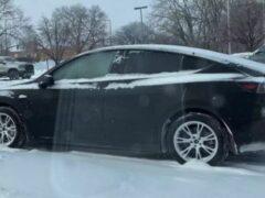 Первая зима позволила Tesla Model Y улучшить рекуперативное торможение