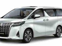 В Сети появилась информация о новом Toyota Alphard