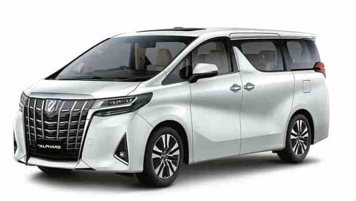 Toyota Alphard, минивэн