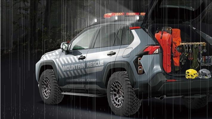 Toyota RAV4 Mountain Rescue, спасательный