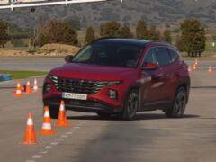 Новый кроссовер Hyundai Tucson с трудом одолел «лосиный тест»